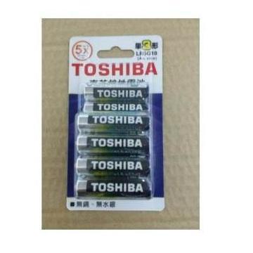東芝鹼3號電池10入卡裝(LR6G8+2)