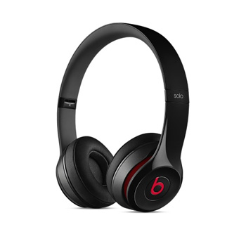 Beats Solo 2 耳罩式耳機-光面黑色(MH8W2PA/A)