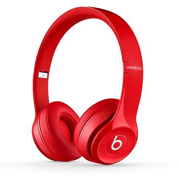 Beats Solo 2 無線耳機 - 紅色(MHNJ2PA/A)