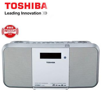 TOSHIBA USB/SD手提CD錄放音響