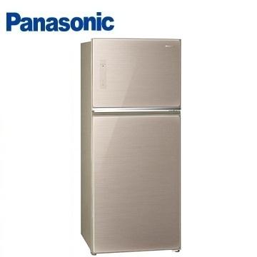 Panasonic 422公升玻璃ECONAVI雙門變頻冰箱(NR-B427TG-N(翡翠金))