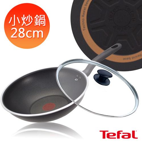 【法國特福】28CM不沾小炒鍋(加蓋)(C1859214)