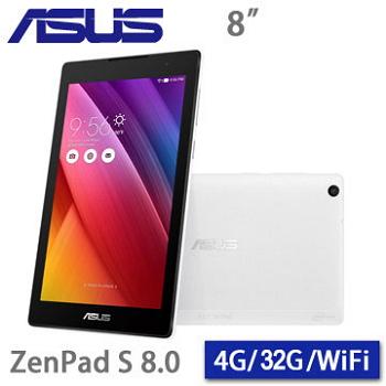 【32G】ASUS ZenPad 8.0 WIFI/白(Z580CA-1B019A白)