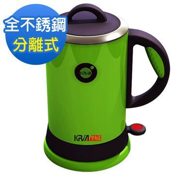 【KRIA可利亞】全開口式不銹鋼炫彩快煮壺(KR-389)