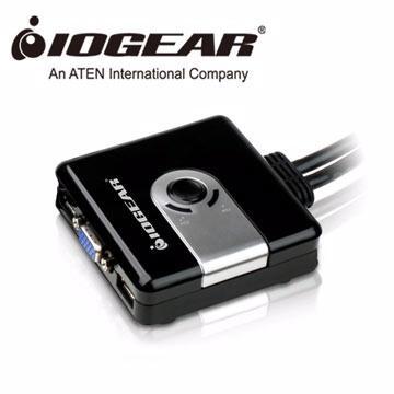 IOGEAR 2埠USB KVM多電腦切換器(GCS42UW6)
