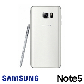 「9成新福利品」【64G】SAMSUNG GALAXY Note 5-白