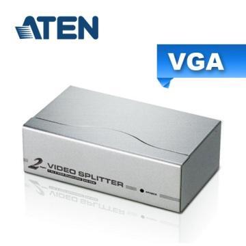 ATEN 2埠 VGA 螢幕分配器(VS92A)