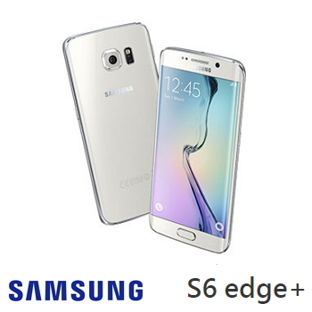 SAMSUNG Galaxy S6 edge+銀