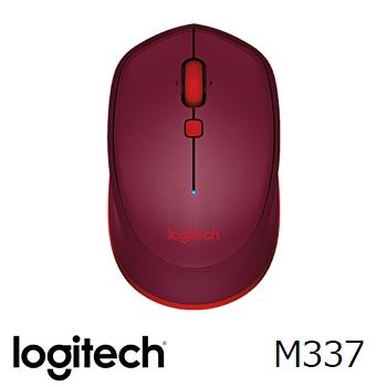 羅技M337藍牙滑鼠-紅(910-004538)