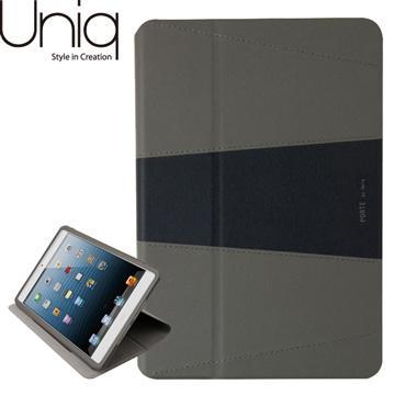 Uniq iPad mini 1&2 Porte真皮保護套-霧黑(UNIQ-PDMDAP-PORBLK)