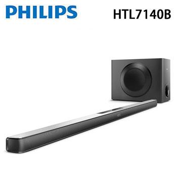 【福利品】 PHILIPS aptX/NFC微型劇院(HTL7140B)
