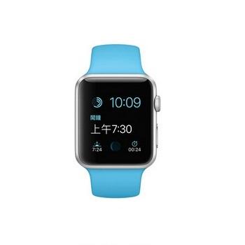 【42mm】Apple Watch Sport 藍色運動 / 銀色鋁金屬 MJ3Q2TA/A()