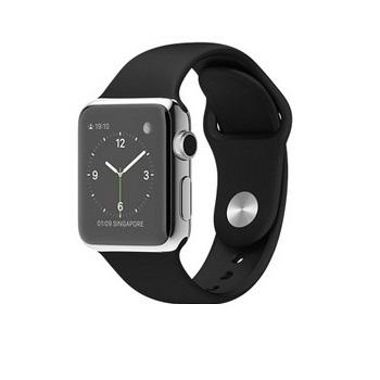 【42mm】Apple Watch 黑色運動 / 不鏽鋼 MJ3U2TA/A