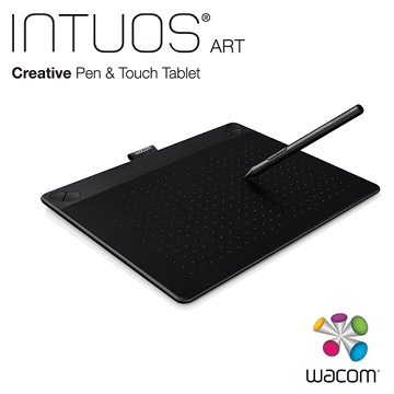 【M】Intuos Art Pen&Touch Tablet - 黑