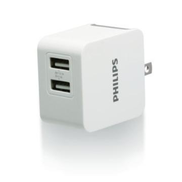 PHILIPS 飛利浦 3.1A USB高效能充電器(DLP3012-37)
