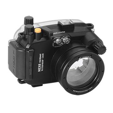 Kamera For Sony NEX-6 (16-50mm) 潛水殼-黑 FOR NEX-6 (16-50mm) | 快3網路商城~燦坤實體守護