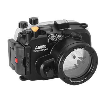Kamera For Sony α6000 (16-50mm) 潛水殼-黑
