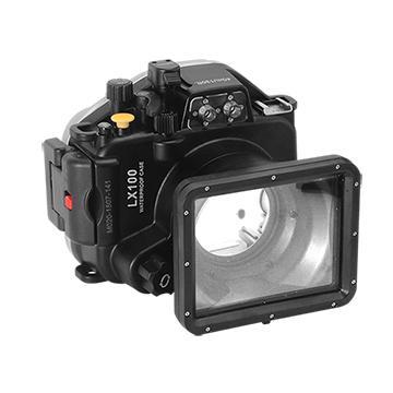 Kamera For Panasonic DMC-LX100 潛水殼-黑