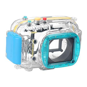Kamera For Nikon 1 V1 (10mm) 潛水殼-藍(FOR V1 (10mm))
