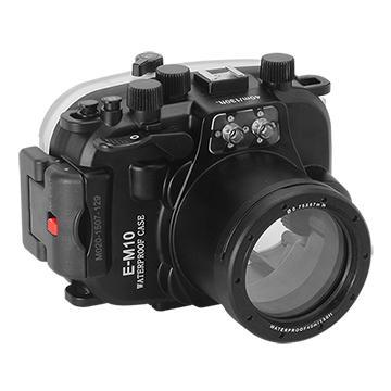 Kamera For Olympus E-M10 (14-42mm) 潛水殼-黑 FOR E-M10 (14-42mm) | 快3網路商城~燦坤實體守護