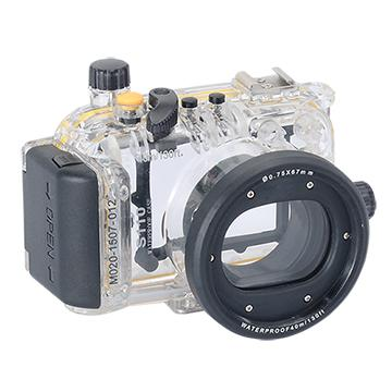 Kamera For Canon PowerShot S110 潛水殼-黑 FOR S110 | 快3網路商城~燦坤實體守護