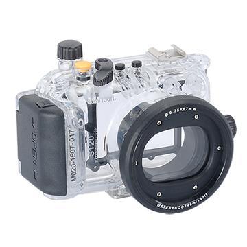 Kamera For Canon PowerShot S120 潛水殼-黑 FOR S120 | 快3網路商城~燦坤實體守護