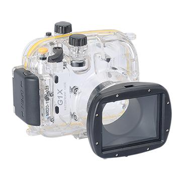 Kamera For Canon PowerShot G1X 潛水殼-黑(FOR G1X)