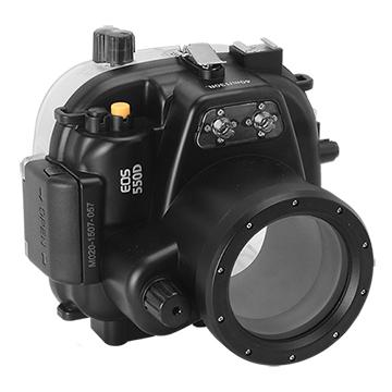 Kamera For Canon EOS 550D (18-55mm) 潛水殼-黑 FOR EOS 550D 18-55mm | 快3網路商城~燦坤實體守護