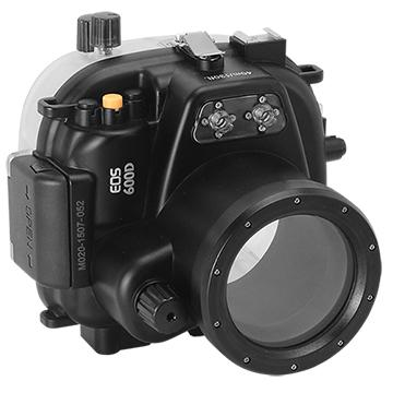 Kamera For Canon EOS 600D (18-55mm) 潛水殼-黑(FOR EOS 600D)