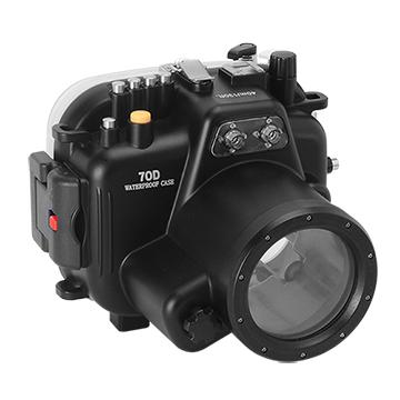 Kamera For Canon EOS 70D (18-55mm) 潛水殼-黑 FOR EOS 70D | 快3網路商城~燦坤實體守護