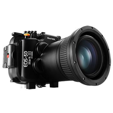Kamera For Canon EOS 5D Mark 3 (24-105mm) 潛水殼-黑(FOR EOS 5D Mark III)