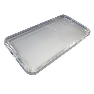 【iPhone 6 Plus】Pingo Tree 鋁框果凍保護殼-銀(399166)