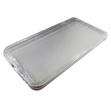 【iPhone 6 Plus】Pingo Tree 鋁框果凍保護殼-灰(399173)