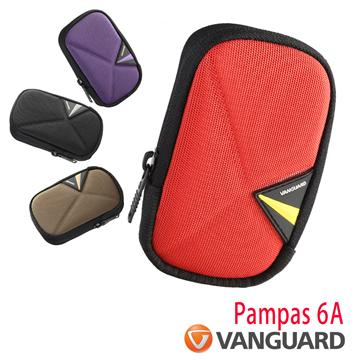 Vanguard 精嘉 斜背腰掛相機包(Pampas II 6A 紅色)