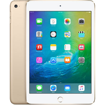 【128G】iPad mini 4 Wi-Fi + Cellular 金色(MK782TA/A)
