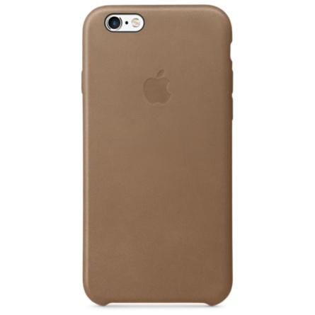 iPhone 6s 皮革護套-棕色(MKXR2FE/A)