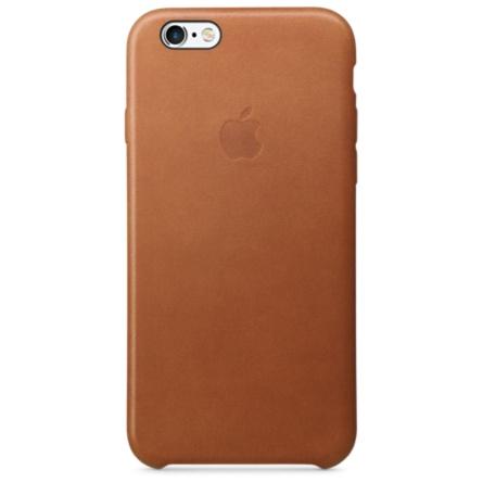 iPhone 6s 皮革護套-馬鞍棕色(MKXT2FE/A)