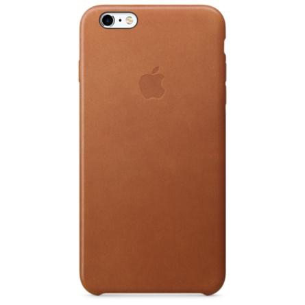 iPhone 6s Plus 皮革護套-馬鞍棕色(MKXC2FE/A)