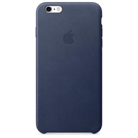 iPhone 6s Plus 皮革護套-午夜藍色(MKXD2FE/A)