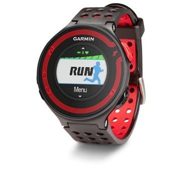 Garmin FR220進階級跑步腕錶-黑紅色(Forerunner 220)