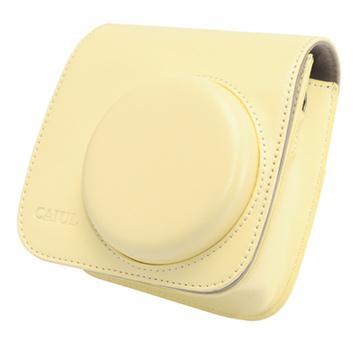 Kamera mini 8 專用相機包-加蓋型(米黃)