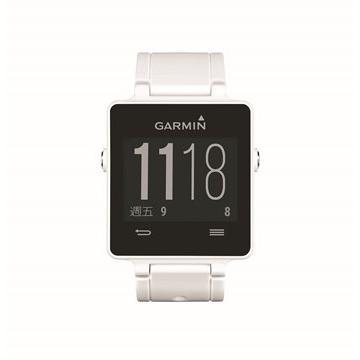 Garmin VivoactiveGPS智慧運動錶-白