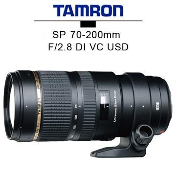 TAMRON SP 70-200mm F2.8 DI VC USD 單眼相機鏡頭(A009(公司貨)FOR CANO)