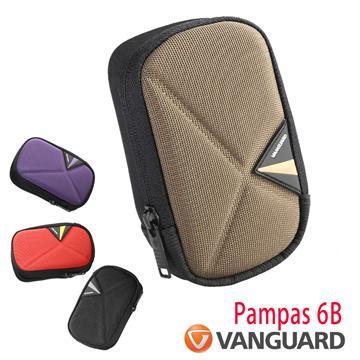 Vanguard 精嘉 斜背腰掛相機包(Pampas II 6B 紫色)