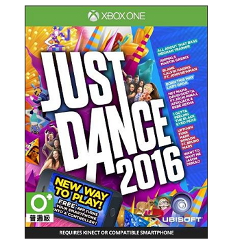 XBOX ONE 舞力全開2016(just dance2016)