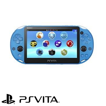 PS VITA-2007型主機 (水波藍)(PCH-2007ZA23)