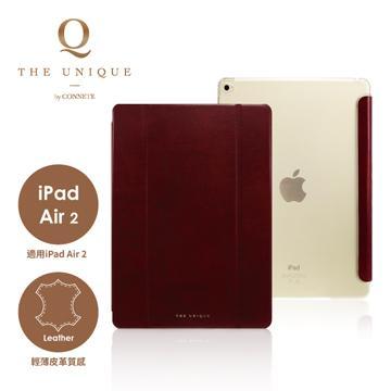 CONNETE iPad Air 2 翻頁站立保護套-紅(CDTIPA2-RE)