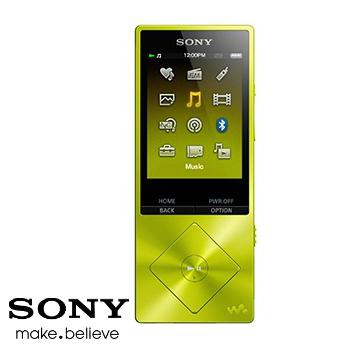 【福利品】【展示機】SONY A25 16G(黃)MP4
