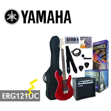 YAMAHA GIGMAKER電吉他套組-紅(ERG121UC)