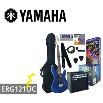 YAMAHA GIGMAKER電吉他套組-藍(ERG121UC)